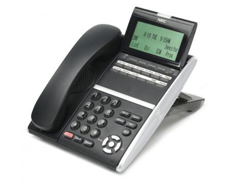 NEC DTZ-12D-3 DT400 12-Button Display Phone Black (650002)