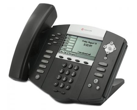 Polycom SoundPoint IP 650 PoE VoIP Display Phone (2200-12651-001)