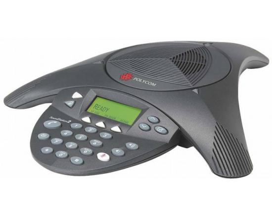 Polycom SoundStation 2 EX LCD Conference Phone (2200-16200-001) - Grade A