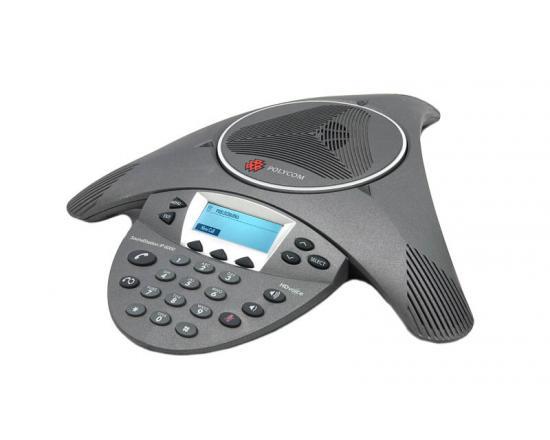 Polycom SoundStation IP 6000 Conference SIP Phone (2201-15600-001) - Grade A