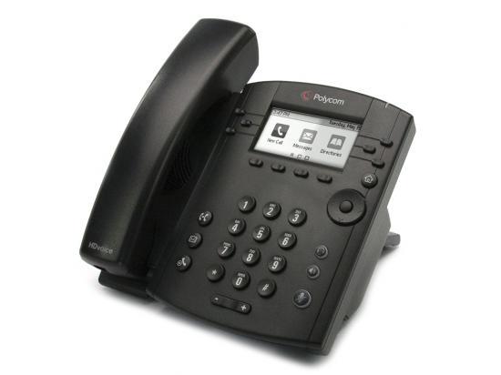 Polycom VVX 301 6-Line IP Phone PoE (2200-48300-025)