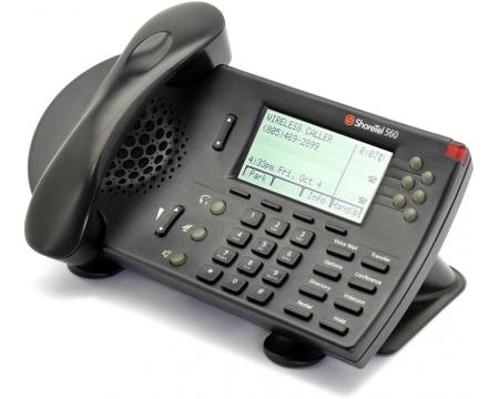 ShoreTel 560 Black IP Phone