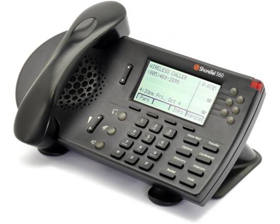 ShoreTel 560 Black IP Display Speakerphone - Grade A
