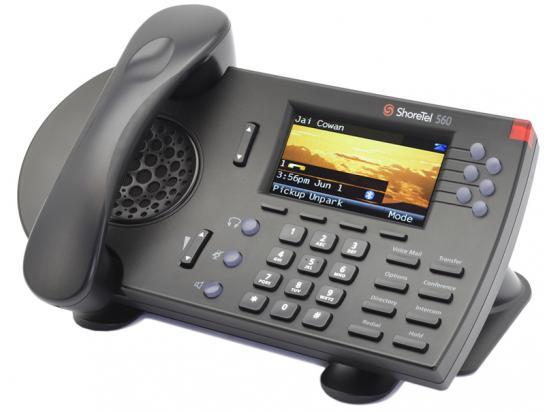 "ShoreTel 560G Black IP Phone ""Grade B"""