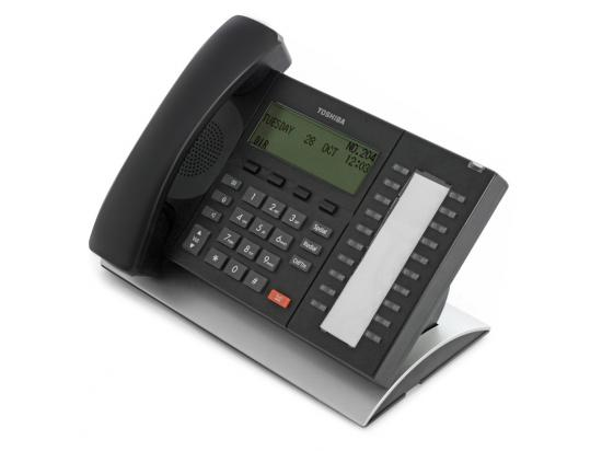Toshiba DP5132-SD Black 20-Button Digital Backlit Display Phone