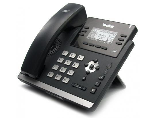 Yealink T41S Black 10- Button Corded 6-Line IP Desk Phone