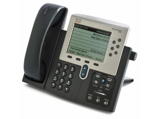 Cisco CP-7962G Charcoal IP Display Speakerphone - Grade A