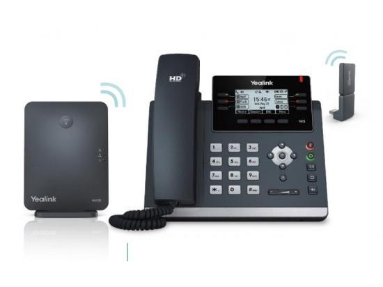 Yealink W41P DECT Desk Cordless Phone Kit