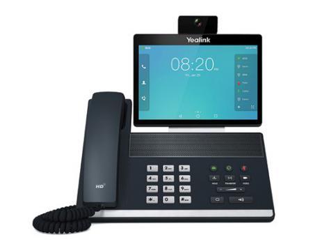 Yealink VP59 Black Gigabit IP Touchscreen Video Phone