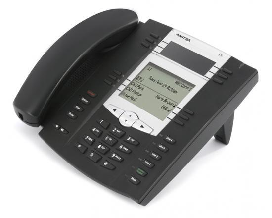 Aastra 6755i Black IP Backlit Display SpeakerPhone - International - Grade A