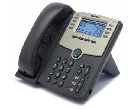 Cisco SPA508G Charcoal IP Display Speakerphone - Grade A