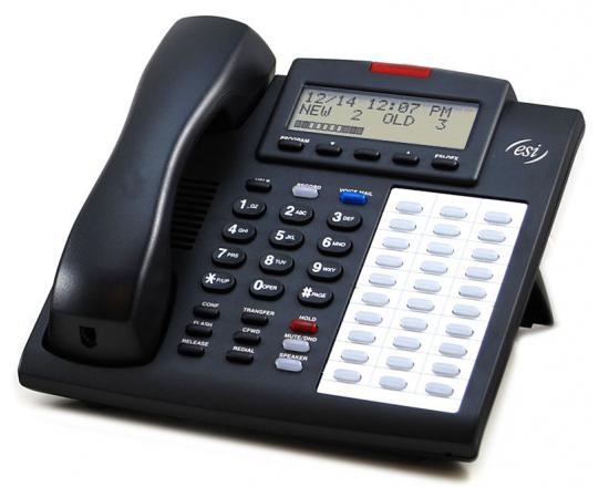 ESI 48 Key H DFP 48-Button Charcoal Digital Display Speakerphone - Grade A