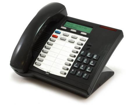 Lot of 5 Refurbished Mitel Superset 4025 Speaker Display Phone Dark Grey