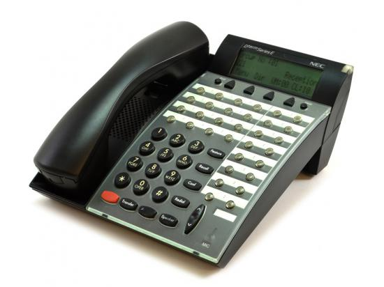 NEC Dterm Series E DTP-32D-1 Black Display Speakerphone (590061)