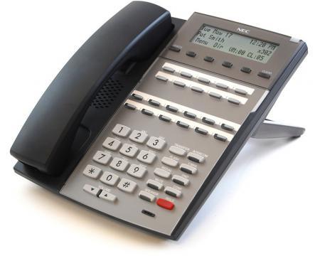 "NEC DX7NA-22BTXH DSX 22B Black Display Speakerphone (1090020) ""Grade B"""