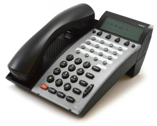 NEC Electra Elite DTU-16D-2 Black Display Speaker Phone (770032)