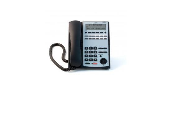 NEC SL1100 12-Button Full-Duplex Telephone (Black) (1100061)