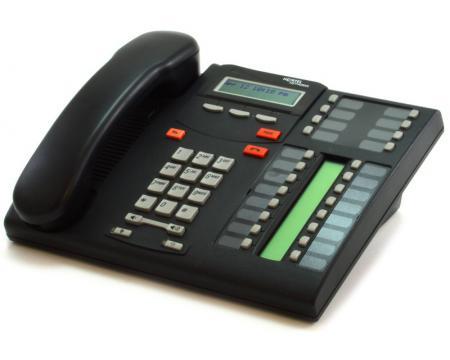 Nortel Norstar T7316 Charcoal Executive Phone (NT8B27)