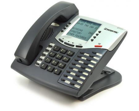 "Inter-tel Axxess 550.8560 Large Display Charcoal Phone ""Grade B"""