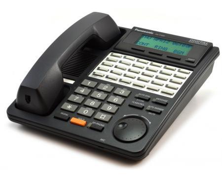 Panasonic KX-T7453-B Black Display Phone