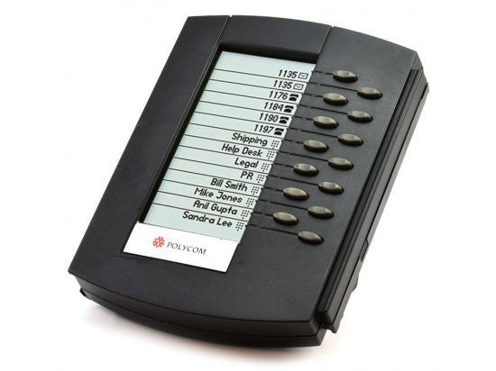 Polycom SoundPoint IP BEM Backlit Expansion Module (2200-12750-025, 2201-12750-001)
