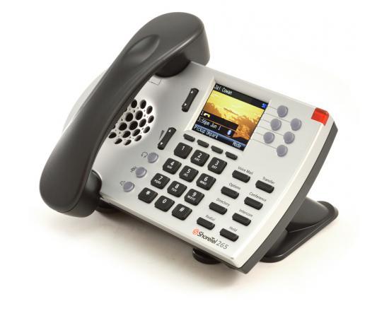 ShoreTel 265 Silver IP Color Display Phone