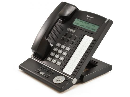 Panasonic KX-T7630-B 24 Button Digital Display Telephone Charcoal - Grade A