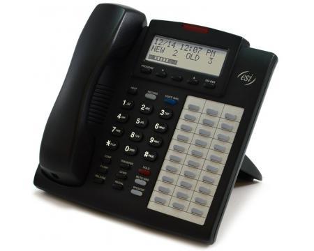 ESI 48 Key FD DFP Charcoal Full Duplex Speakerphone with Backlit Display (5000-0531)