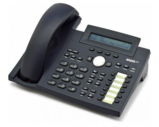 Snom 320 VoIP IP SIP Phone (SNO-320-BK)