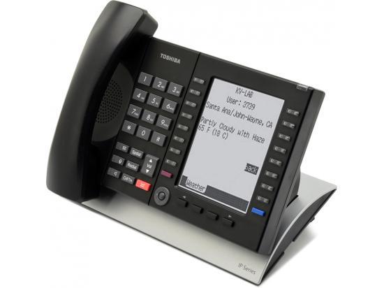 Toshiba Strata IP5131-SDL 20-Button Large Backlit Display Gigabit IP Phone