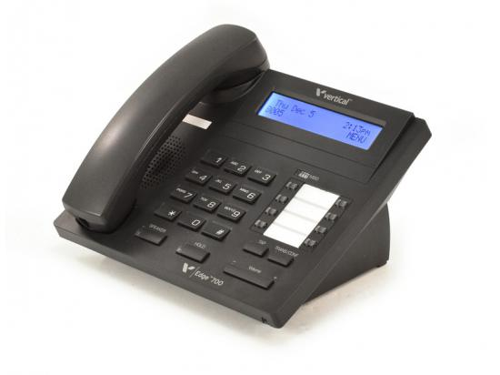 Vertical Edge 700 Black Digital Display Speakerphone