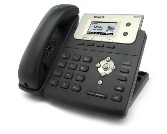 "Yealink SIP-T21P E2 Black 10-Button Digital Display VoIP Phone ""Grade B"""
