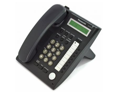 Panasonic KX-DT321-B Charcoal Basic Display Phone