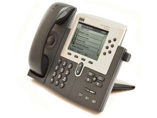 Cisco CP-7960G Charcoal IP Display Speakerphone - Grade B