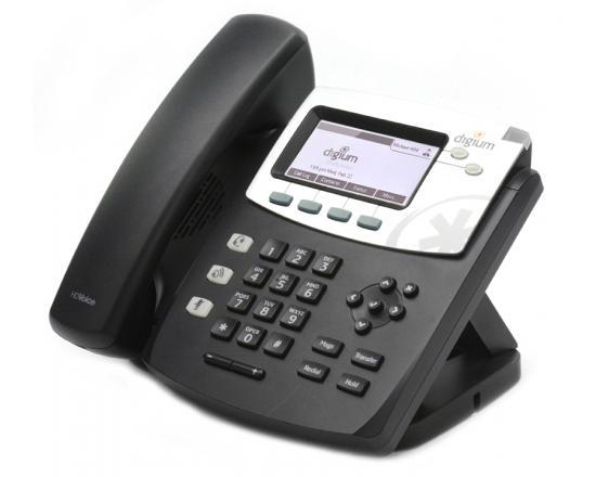 Digium D40 2-Line SIP with HD Voice Backlit Display English Text Keys (1TELD040LF) - Grade B