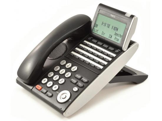 NEC Univerge DT300 DTL-24D-1 Black 24-Button Display Phone (680004)
