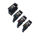Dell C1760NW Color Laser Printer Cartridge - 4-Pack