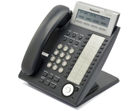 Panasonic KX-DT333-B Black Digital Display Phone - Refurbished