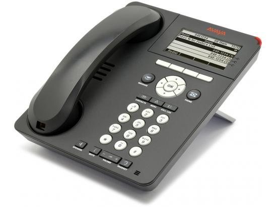 Avaya 9620 12-Button Black IP Display Speakerphone - Grade A