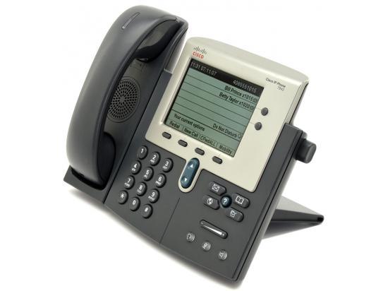 Cisco CP-7942G Charcoal IP Display Speakerphone - Grade B