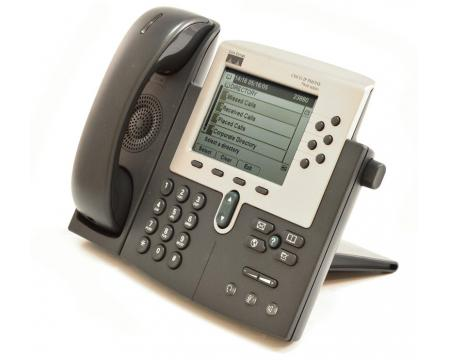 Cisco CP-7960G Charcoal IP Display Speakerphone - Grade A