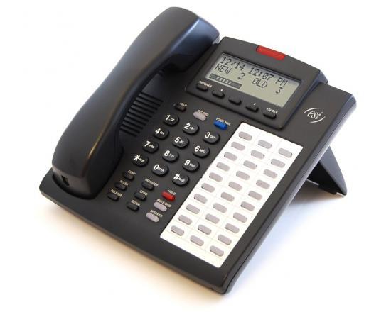 ESI 48 Key H DFP BL Charcoal Backlit Display Speakerphone (5000-0500)
