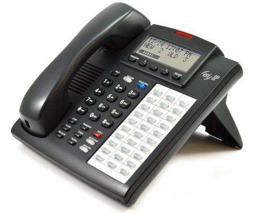 ESI IPFP2 30-Button Black IP Display Speakerphone - Grade A
