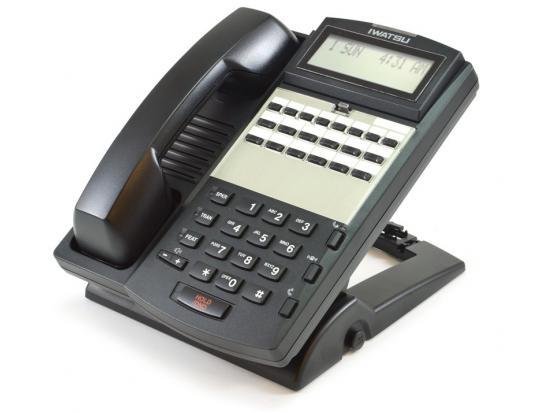 Iwatsu Omega ADIX IX-12KTD-3 12-Button Display Speakerphone (104204) - Grade B