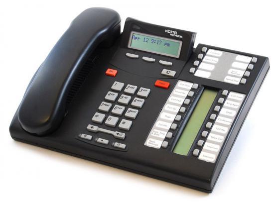 "Nortel Norstar T7316E Charcoal Enhanced Phone (NT8B27) ""Grade B"""