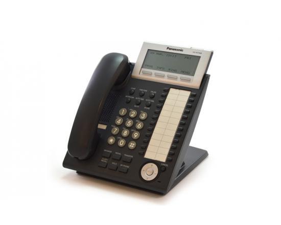 Panasonic KX-NT346-B Backlit LCD VoIP Phone Black
