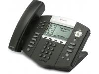 Polycom SoundPoint IP 650 PoE VoIP Display Phone (2200-12651-001) - Grade B