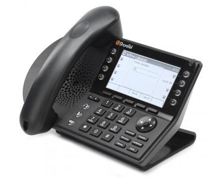 ShoreTel IP 480 Black 12-Button Display Phone (IP480)