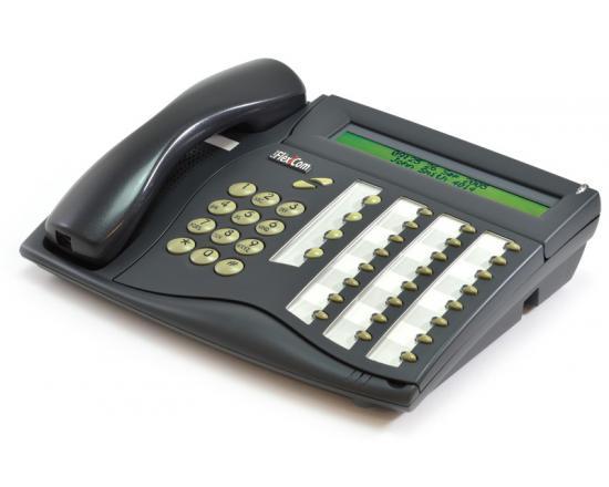 """Tadiran 280D  Coral Flexset Charcoal Display Phone """"Grade B"""""""