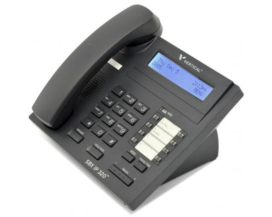 Vertical SBX IP 320 Black Digital Display Speakerphone -  Grade A